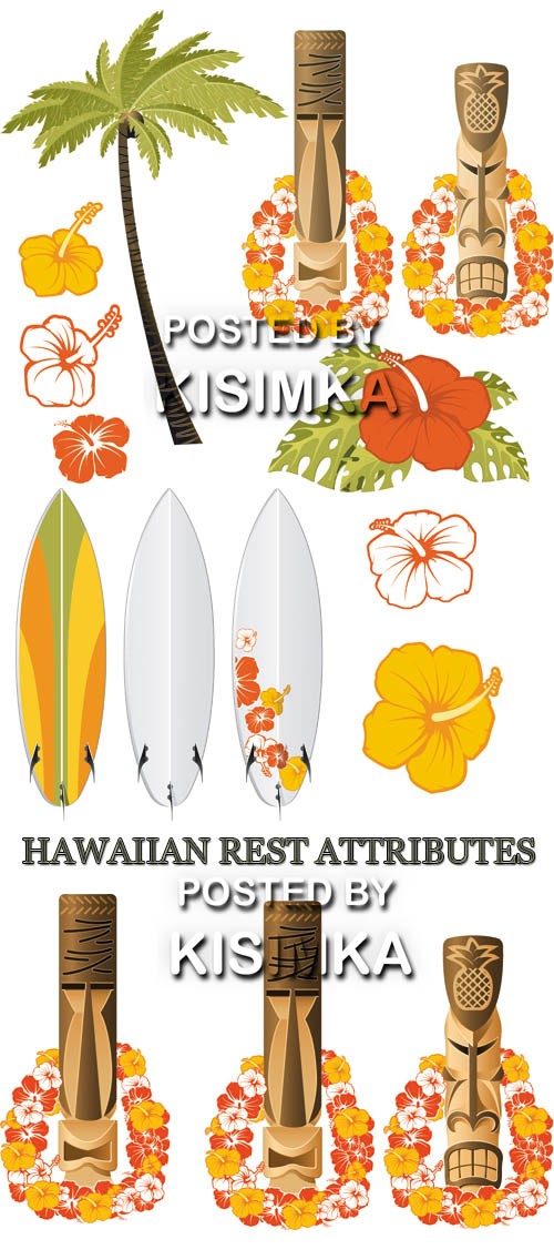 Stock: HAWAIIAN REST ATTRIBUTES