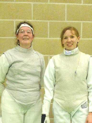 Townsend and Pritchard at Hampshire Foil 2012