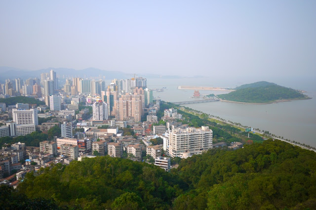 View of Zhuhai at Jingshan Park