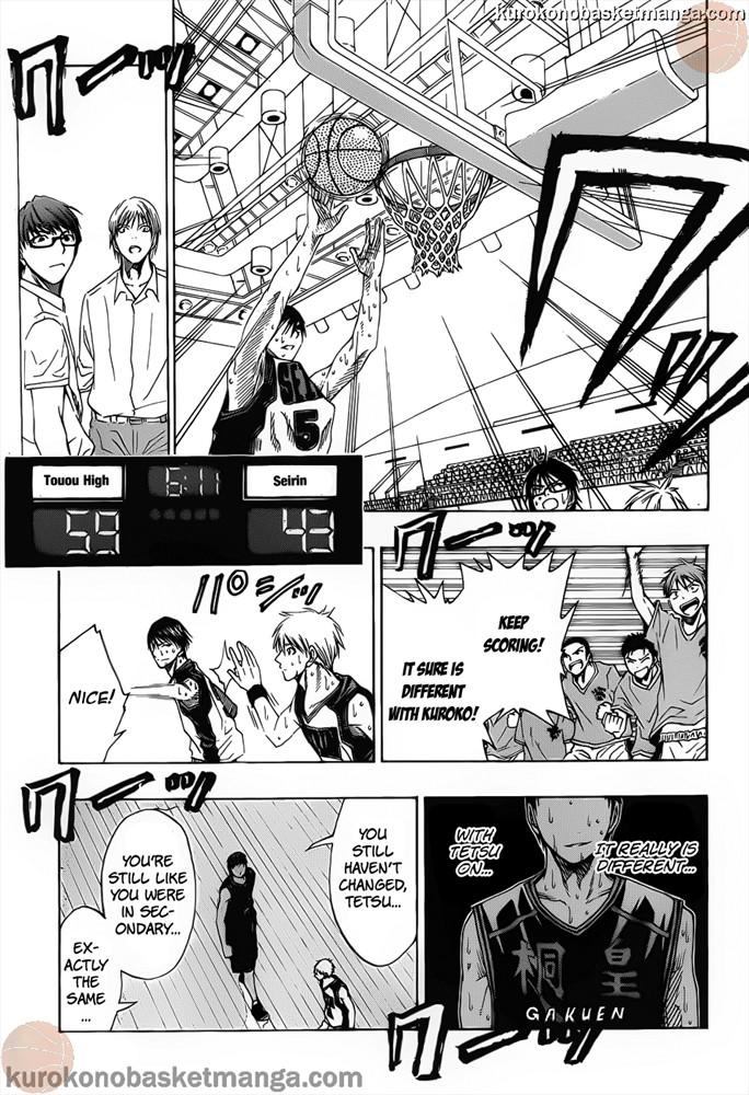 Kuroko no Basket Manga Chapter 50 - Image 09