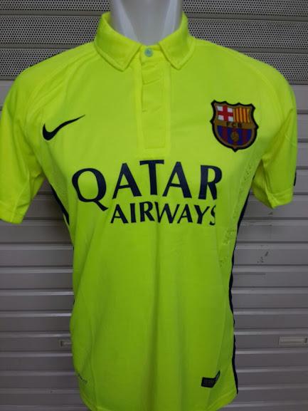 Jual Jersey Barcelona 3rd 2014-2015 Official Terbaru