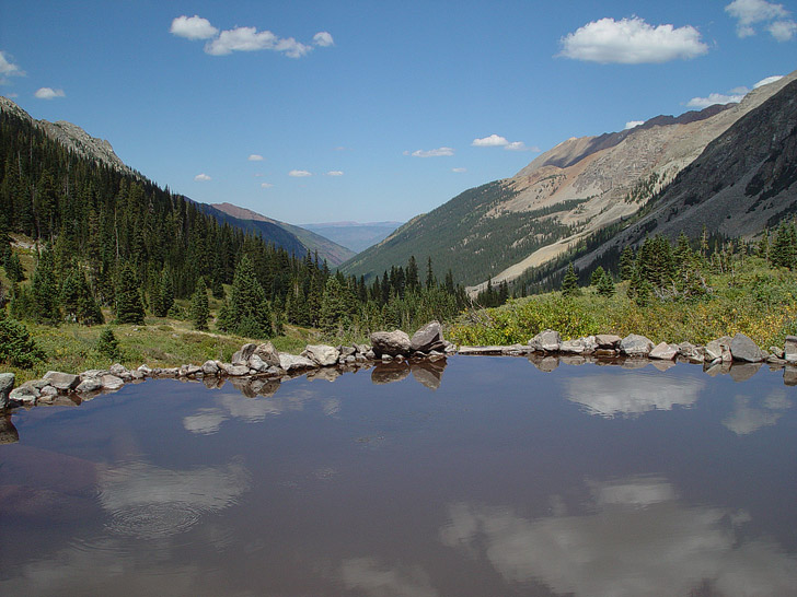 Conundrum Hot Springs Aspen Colorado (Natural Hot Springs in USA).