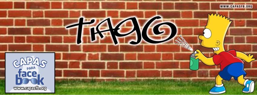 Capas para Facebook Tiago