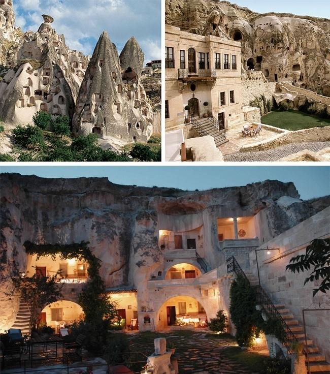 Yunak Evleri Hotel In Cappadocia, Turkey