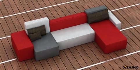 Arte en diseño de sofás, Lubo Majer
