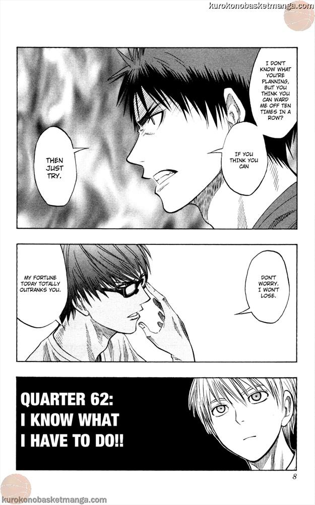 Kuroko no Basket Manga Chapter 62 - Image 6