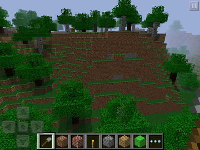 Minecraft Pocket Chronological Seeds