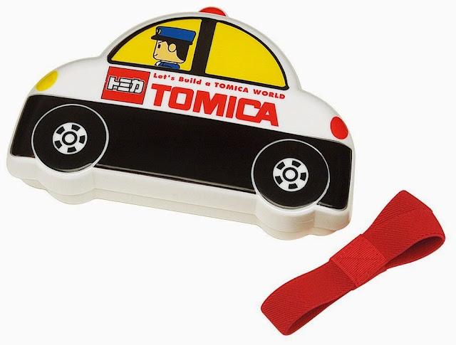 Hộp cơm cho bé hình xe tuần tra Tomica rất dễ thương