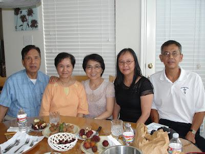 Thăm thầy Hùng & cô Hà
