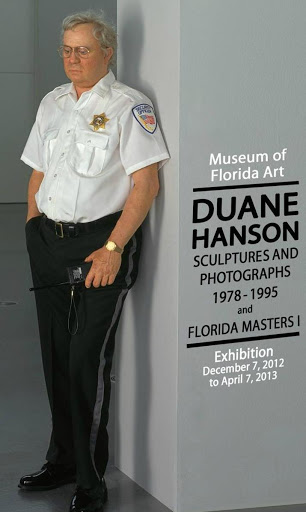 Duane Hanson - Security Guard