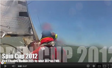 J/125 sailing Spinnaker cup