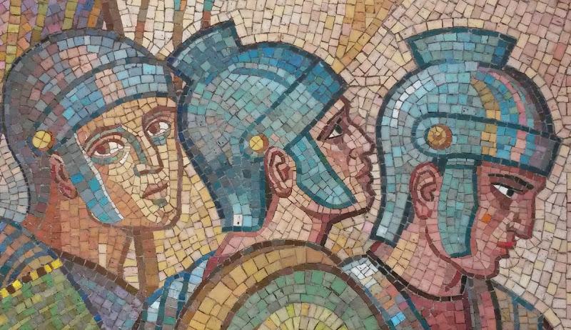 Romeinen mozaiek