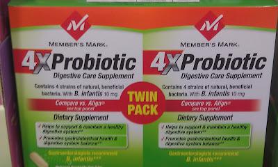 Members Mark 4X Probiotic