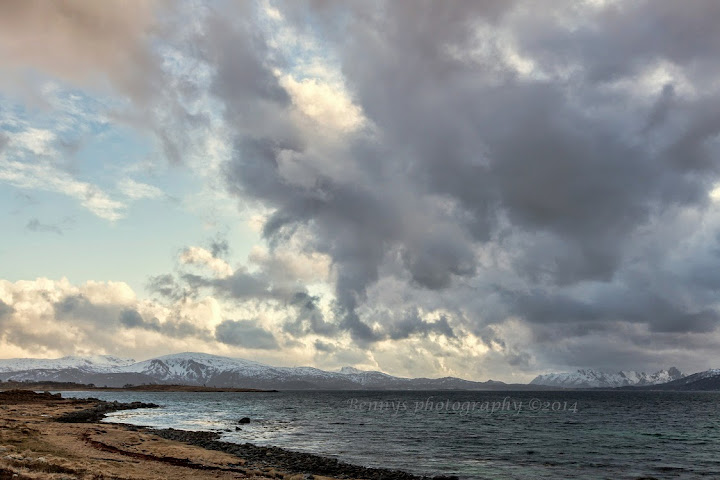Spring Rain Clouds in Northern Norway. Photographer Benny Høynes