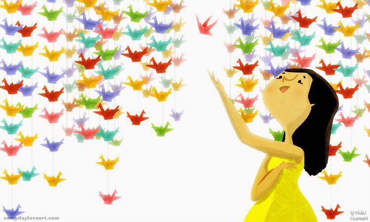 Resultado de imagem para ilustração de felicidade