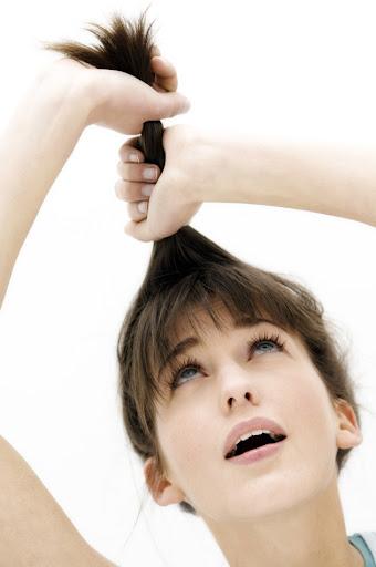parlayan sağlıklı saçlar
