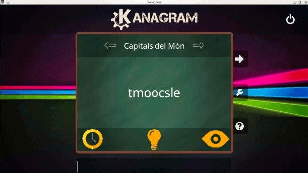 kanagram para dos jugadores