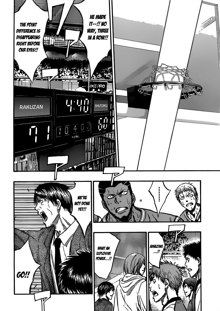 Kuroko no Basket Manga Chapter 181 - Image 10