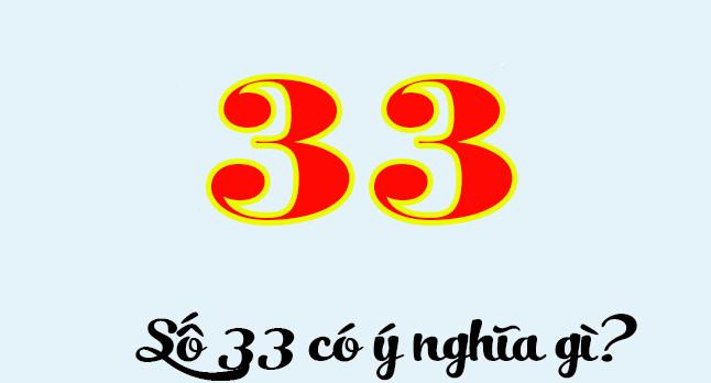 ý nghĩa số 33