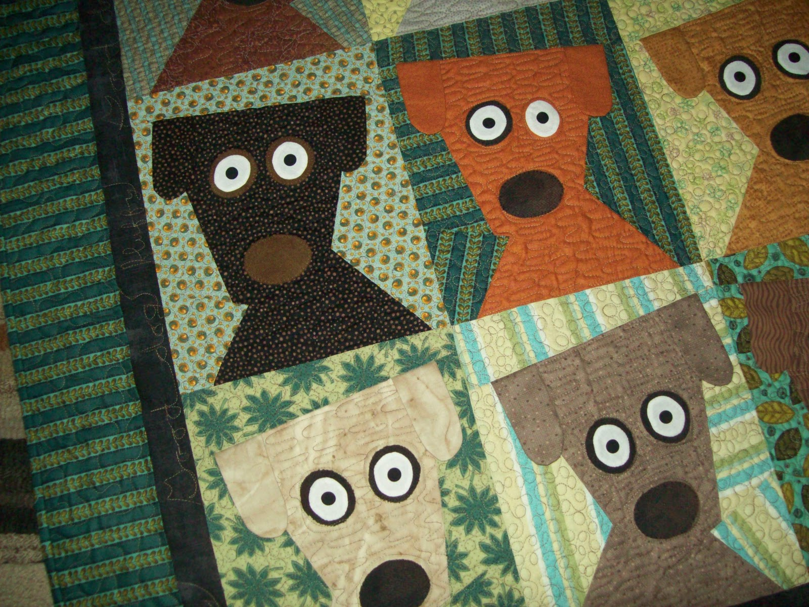 Dog Quilt Fabric Jeni S Blog From The Willow Doggie