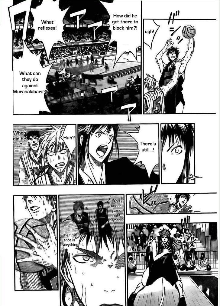 Kuroko no Basket Manga Chapter 152 - Image 08