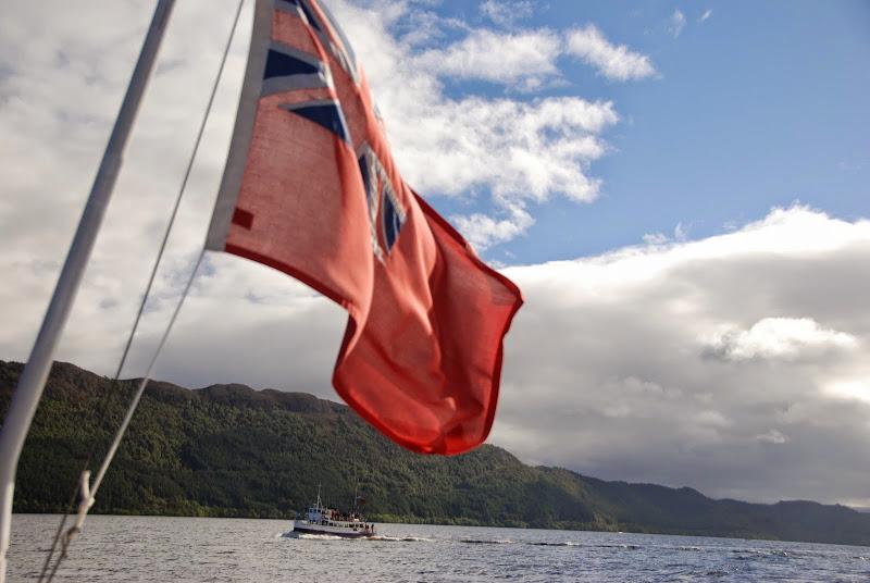 Loch Ness via boat
