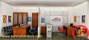 Mẫu thiết kế nội thất văn phòng SMF729