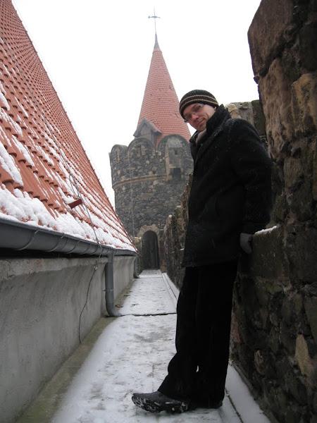 Zamek Grodziec - ganek