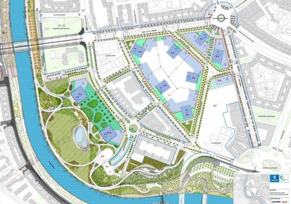 Más parque para Madrid Río y dos rascacielos para sustituir al Vicente Calderón en 2022