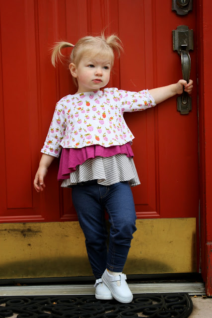 etage top by sew straight pattern company, sewed by dandelions and lace