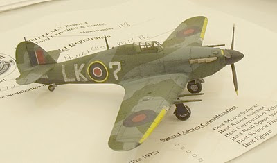 Hawker Hurricane Mk.IIc model photo