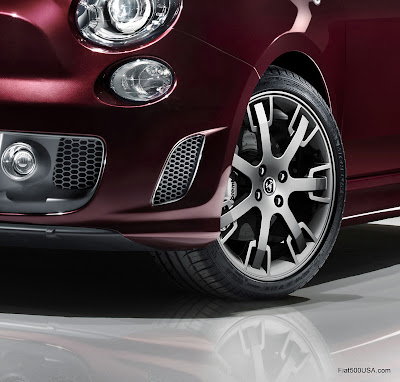 Abarth 695 Tributo Maserati Neptune wheels