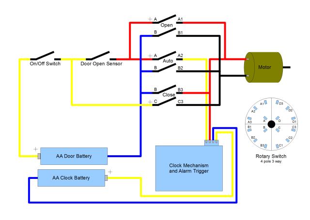 automatic chicken coop door circuit 2