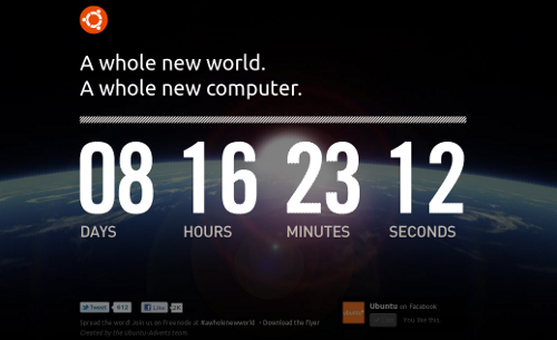 Ubuntu Count Down Site