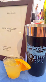 Feast 2014, Tillamook Brunch Village participant Bendistillery brought a Pina Picante using Crater Lake Pepper vodka