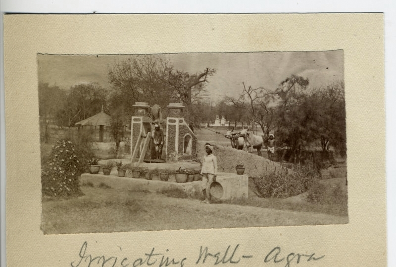 Irrigation Well - Agra 1880's