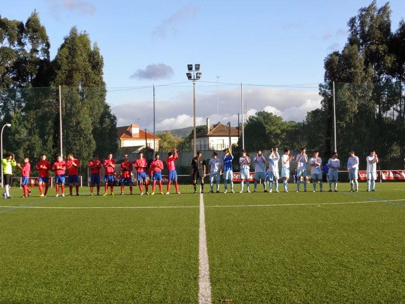 Instante partido de ida afeccionados G. Caranza - Numancia (24/11/2013)