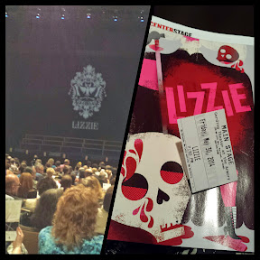 Portland Center Stage Lizzie production, Opening night of #lizzieborden #lizzie #pcs_lizzie @PCS_Armory