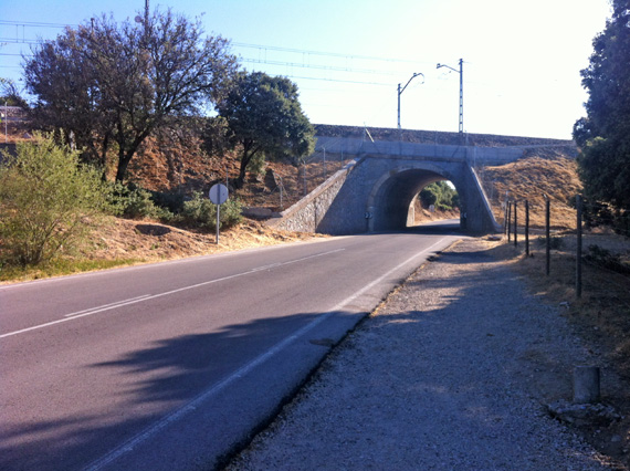 Ruta en bici por los senderos del Pardo, junio 2012