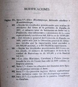 Modificaciones que se han producido desde la escritura del libro y la edición