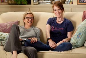 Annette Bening y Julianne Moore en Los chicos están bien