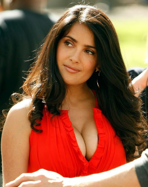 Salma Hayek Hot Photos