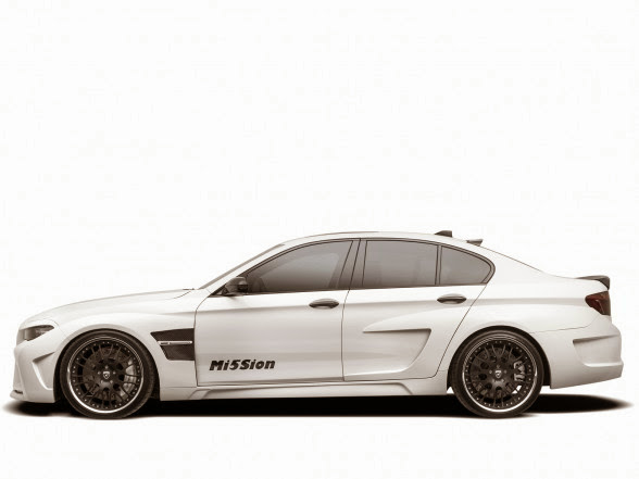 2013 Hamann BMW M5 Mi5Sion - Left Side