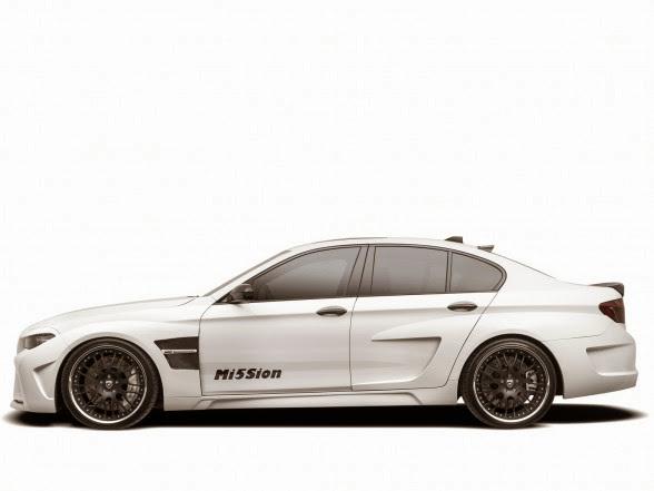2013 Hamann BMW M5 Mi5Sion - Left Side
