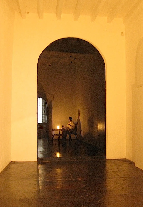 replica of Jose Rizal's prison cell