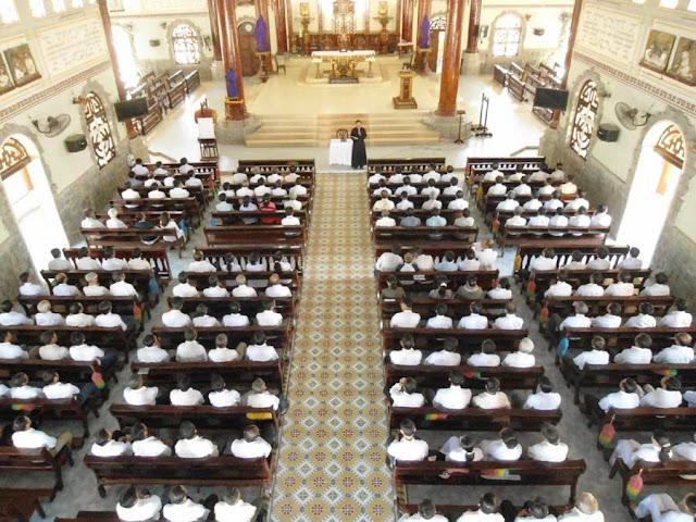 Tĩnh tâm HĐGX và Đại Hội Acies tại giáo hạt Ninh Sơn.