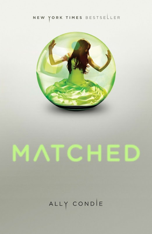 Book Review: Matched (Matched, Book 1), By Ally Condie USA Hardback Cover Image