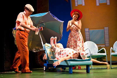Gerald Drake, Sara Richardson and Mo Perry in Mercy Watson to the Rescue! Photo by Dan Norman.