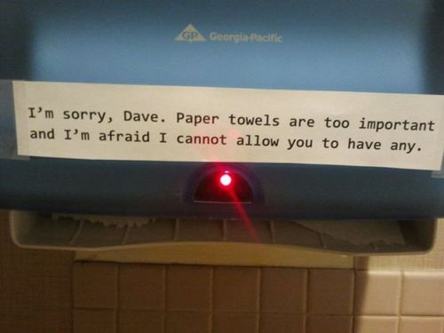 Sorry, Dave...