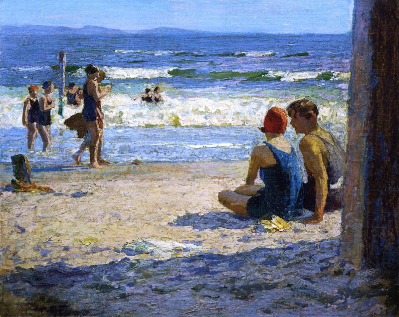 Edward Henry Potthast - Sun and Shade.